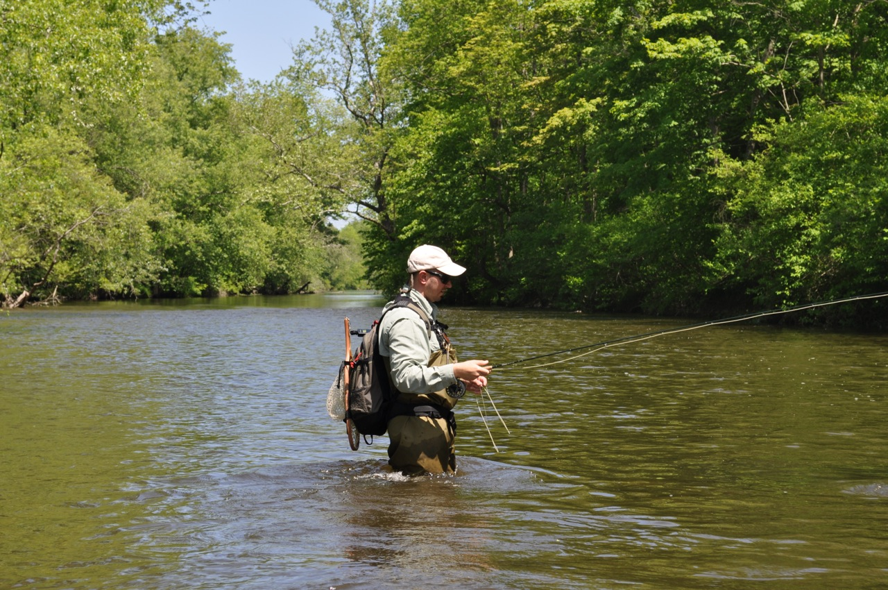 Paulinskill river moose knuckle fly fishing for Nj fly fishing