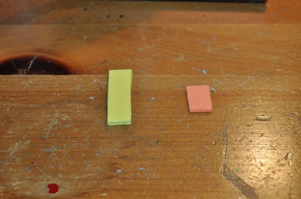 Step 2A - Prep the foam.